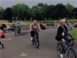 Free wheel group bike 1