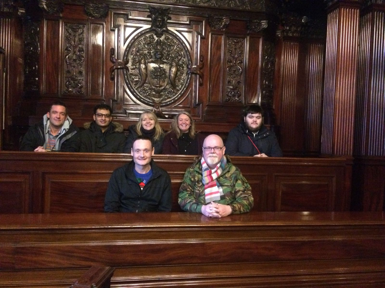 Group 1 at City Chambers 4