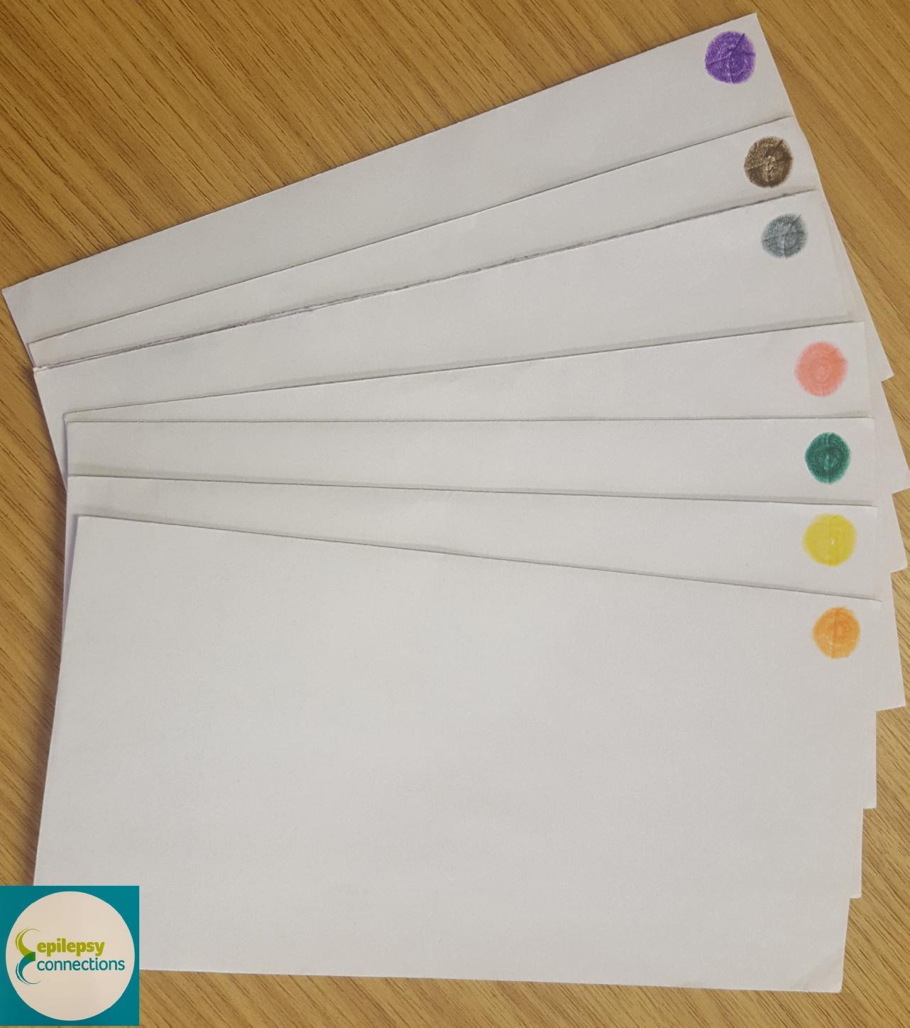 Steven blogging envelopes