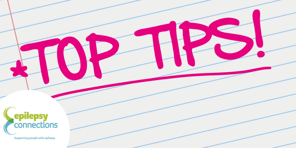 Top tips with logo